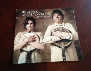 Bela Fleck and Abigail Washbur